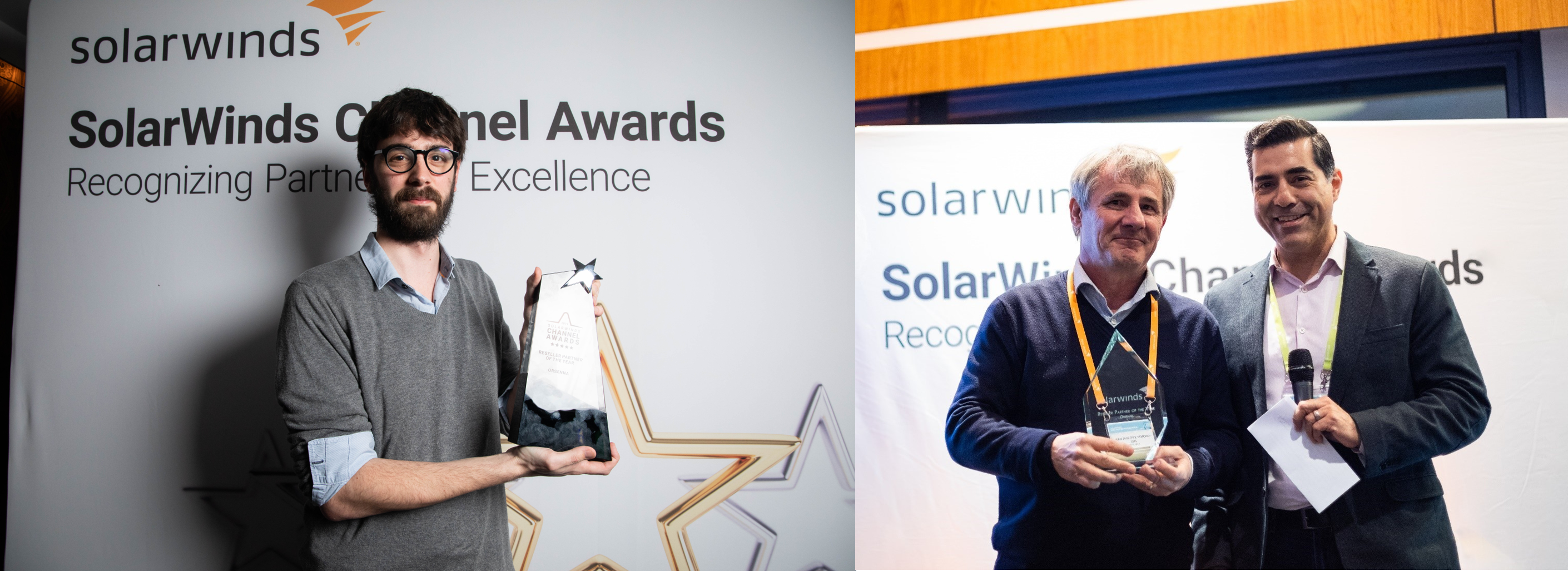 Channel EMEA Awards SolarWinds
